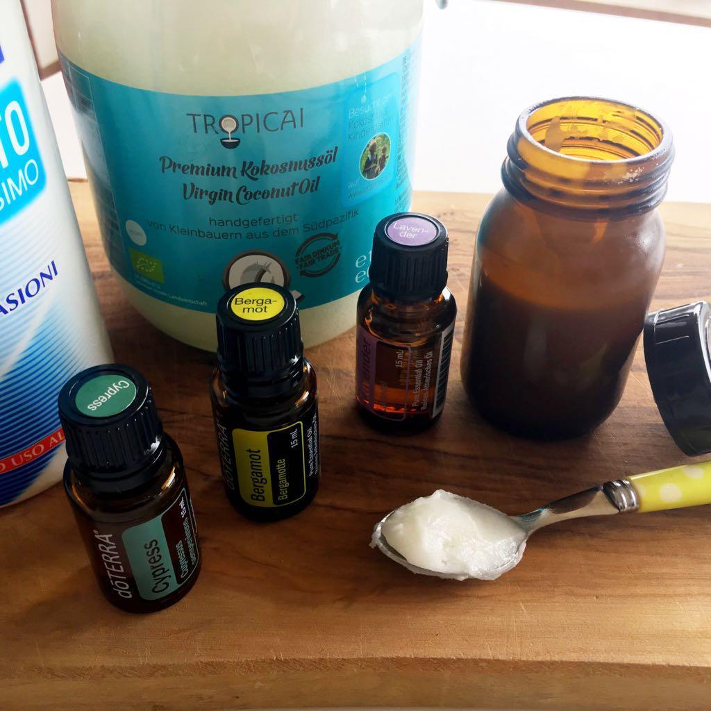 Ricetta deodorante naturale secco