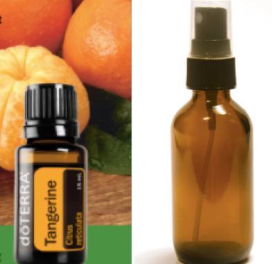 Tangerine mint cleaning spray